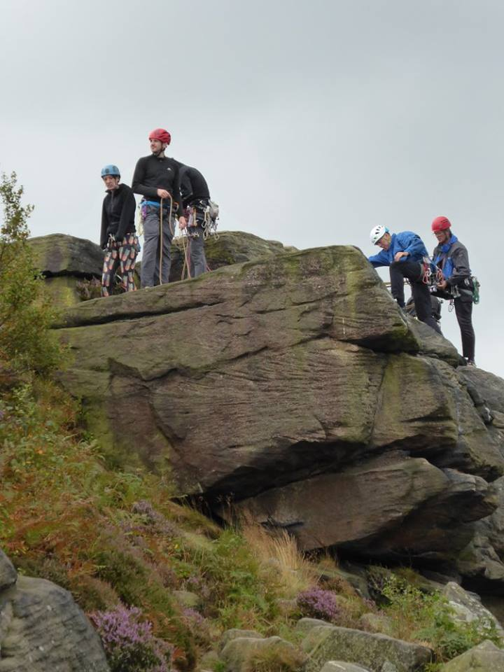Birchen Edge 21 Aug 2016. Photo: Chris Kell